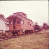 The caboose in better days