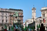 Alpini in Duomo Square