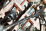 Statue in Piazza Fontana