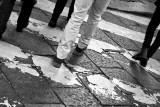 Walking in shoppig streets