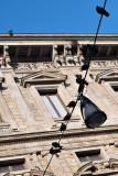 Palazzo Marino and pigeons