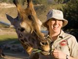 Guide and Giraffe