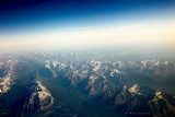 Above Mount Rundle