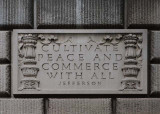 CULTIVATE PEACE AND COMMERCE WITH ALL
