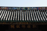 Roof of Tang Chung Ling Ancestral Hall