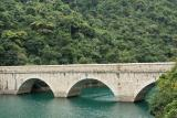 A bridge on Tai Tam Tuk Reservoir (1)