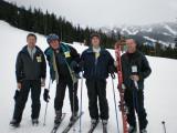 Skiing at Whistler Blackcomb