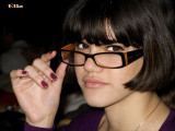 Ella with new haircut and glasses.jpg
