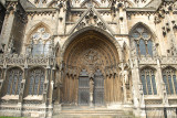 Main door Lincoln Cathedral.