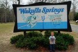 Brooks goes to Wakulla Springs