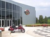 My GL1800 in front of the Barber Vintage Motorsports Museum