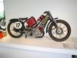 Scott motorcycle