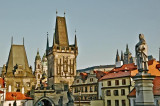 Prague, the City from Charles Bridge