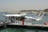 The Seawings dock at the Jebel Ali Golf Resort & Spa