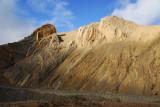 The New Tingri - Rongphu road descending towards the Dzaka Valley