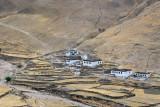 The first small village south of Pang-la Pass, Yungya Hamlet