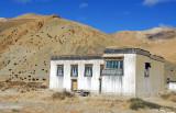 Tibetan house on the edge of Pagsum Hamlet