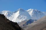 North slope of the Himalaya between Cho Oyo and Gyachung Kang (N28.1067/E86.706) at around 25,200 ft