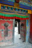 Entrance to the Tsuglag Khang, the main temple