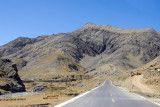 Friendship Highway heading for Simi-la Pass and Gyantse