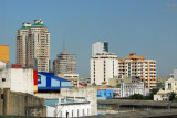 View from Recto LRT station, Manila