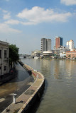 South bank of the Pasig River from MacArthur Bridge