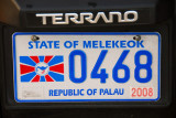 Palau License Plate - State of Melekeok