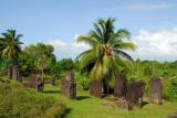 Some of the 37 basalt monoliths at Badrulchau, Ngarchelong State, Palau