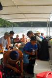 After snorkeling Jellyfish Lake