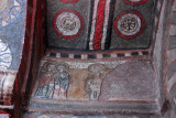 Painted figures, Bet Maryam, Lalibela