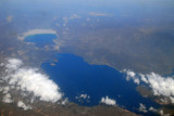 Lac Assal (top) the lowest point on the African continent (155m/515 ft below MSL) Djibouti