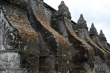 Massive butresses of Paoay Church helped it withstand earthquakes in 1706 and 1927
