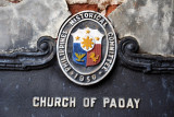 Philippine Historical Committee plaque of Paoay Church