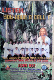 Recruitment poster for Augustinian missionaries