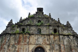 Western facade, Paoay Church