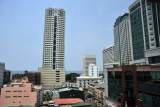 Malate, looking west from Pearl Garden Hotel, M. Adriatico St.