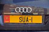 Isle of Man license plate