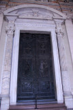 Bronze main portal made for Old St. Peter's by Filarete in 1445