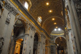Stepping into St. Peter's Basilica through the Door of the Sacraments