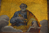 Mosaic of St. Peter, Basilica di San Pietro