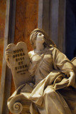 Allegory of Religion holding the tablets of Law - Gregory XIII monument