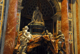 Monument to Pope Alexander VII (1655-1667) by Bernini, 1678