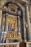 Altar of St. Gregory the Great, famous for Gregorian Chant