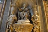 Monument to Pope Leo XI (1605) by Algardi, 1644