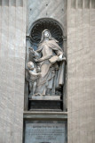 St. Teresa of Jesus (1515-1582) founder of the Order of Discalced Carmelites, by Filippo Della Valle, 1754