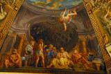 Ceiling of the Sala della Muse, ca 1780, Museo Pio-Clementino