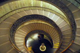 Helical staircase of the Vatican Museum