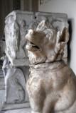 Statue of a dog, Roman Imperial period, Pio-Clementino (inv 897)
