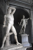 The Greek boxer Kruegas by Antonio Canova, Museo Pio-Clementino