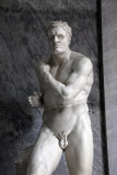 Greek boxer Damoxenos of Syracuse who killed Creugas with an illegal move, also by Antonio Canova
